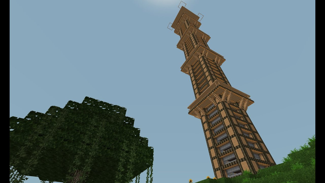 Minecraft lets show der h chste weizentower youtube for West out of best project