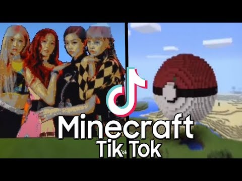 30 Best Minecraft Tik Tok Video - Pixel Art, Command Block, Building, And More