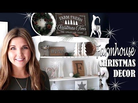 🎄FARMHOUSE CHRISTMAS DECOR - DIY FARMHOUSE SIGN
