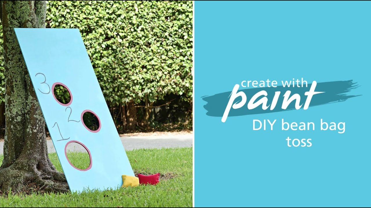 Habitat TV Video: DIY lawn games: Make your own cornhole/ bean bag toss