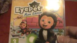 EyePet Move Edition Unboxing