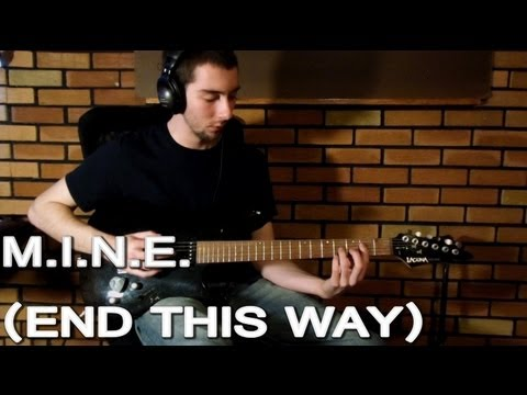 Five Finger Death Punch - M.I.N.E. (End This Way) (Guitar Cover) [No Intro]