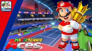 Mario Tennis Aces: Online Tournament Demo - Game, Set & Match (Switch Gameplay)