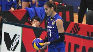 Highlights・Jaja Santiago・ Ageo Medics vs Hisamitsu Springs・Japanese Volleyball League 2018-19