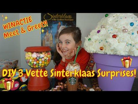 DIY - 3 Snelle Sinterklaas Surprises - WINACTIE (GESLOTEN)