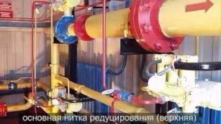 Котельная модульная газовая. Технологический блок