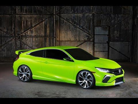 2016 Honda Civic Concept Global Debut : ฮอนด้า ซีวิค คอนเซปต์ ปี 2016 เจนเนอเรชั่น 10