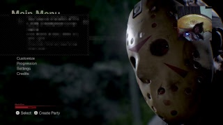 Friday the 13th the game:Ps4 platform: 18+ Livestream  buzz stream with the crew part 2