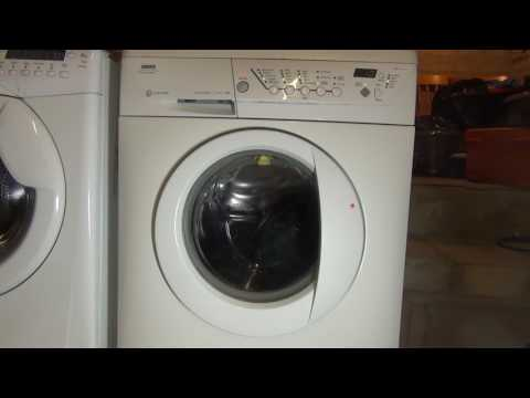 Zanussi Jet System Progress ZWF1437 : Delicate Super Quick : rinses and Final spin (Pt 2/2)