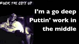 Chris Brown - Fuck The City Up with Lyrics
