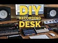 How to build a DIY Recording Desk