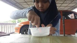 How to make fluffy slime (Malaysia)...