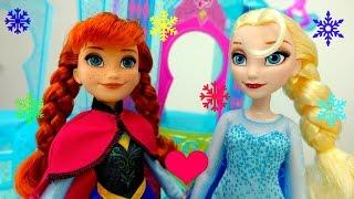 Игры для девочек - Эльза и Анна Холодное сердце