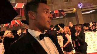 Tom Daley at the 2012 Pride of Britain Awards