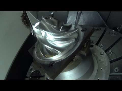 5 Axis Simultaneous 3D Additive on a DMG Lastertec 65 3D Hybrid