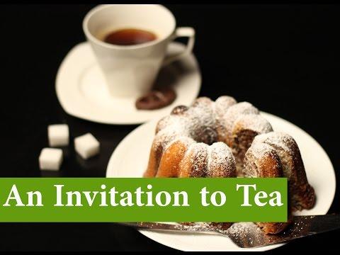 English Conversation: An Invitation to Tea