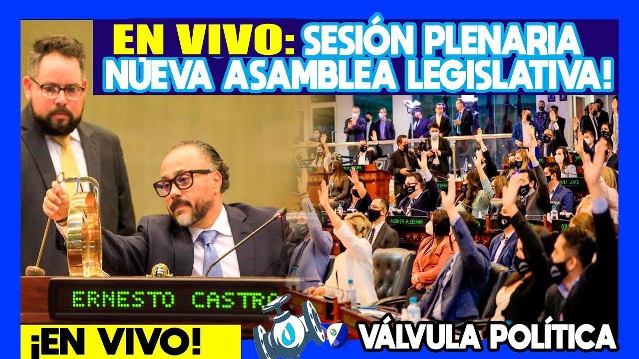 #EN VIVO: ¡SESION PLENARIA 21 ASAMBLEA LEGISLATIVA 21/09/21- VÁLVULA POLÍTICA