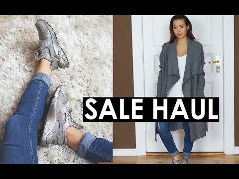 Sale Haul (ZARA, NIKE Huarache Premium, BERSHKA) + Try On | Eileena Ley
