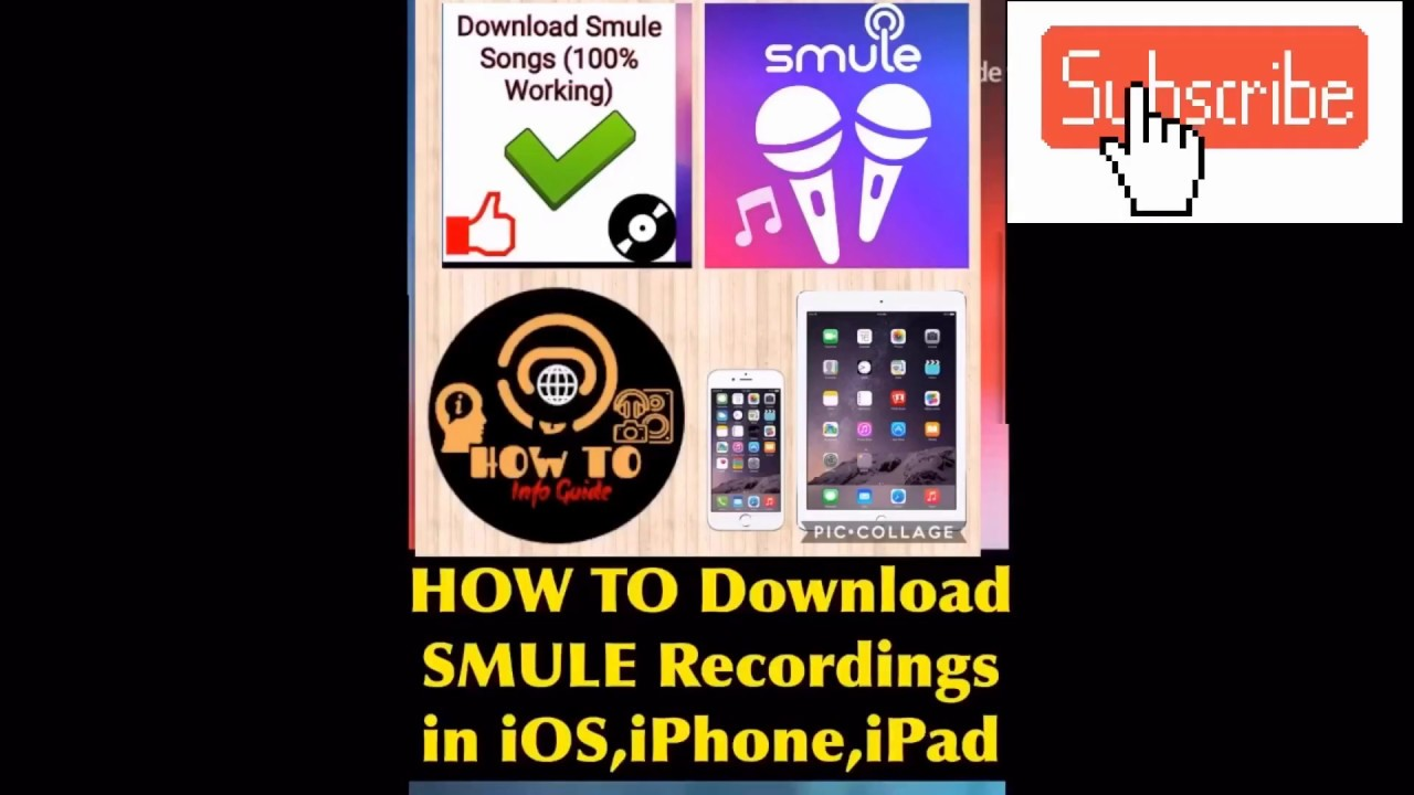 How To Download smule Recordings on iPhone (smule iphone,iOS,ipad Audio  Video songs downloader) App✅