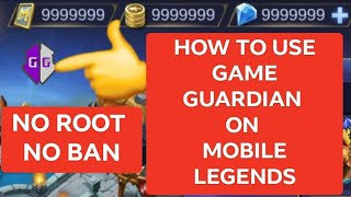 Gambar cover GAME GUARDIAN ON MOBILE LEGENDS 1 HIT KILL [no root]