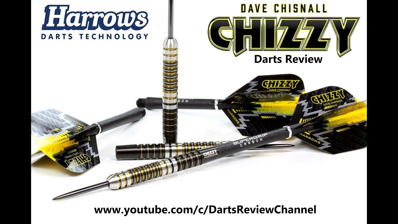 "Harrows Dave /""Chizzy/"" Chisnall Dart Flights"