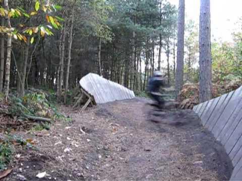 Sherwood Pines Mountain Bike Skills Area Youtube