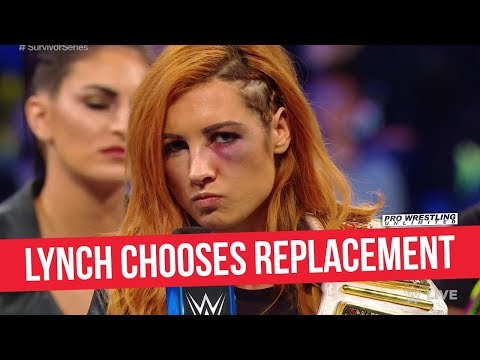 Becky Lynch Chooses Her Replacement To Face Ronda Rousey At Survivor Series