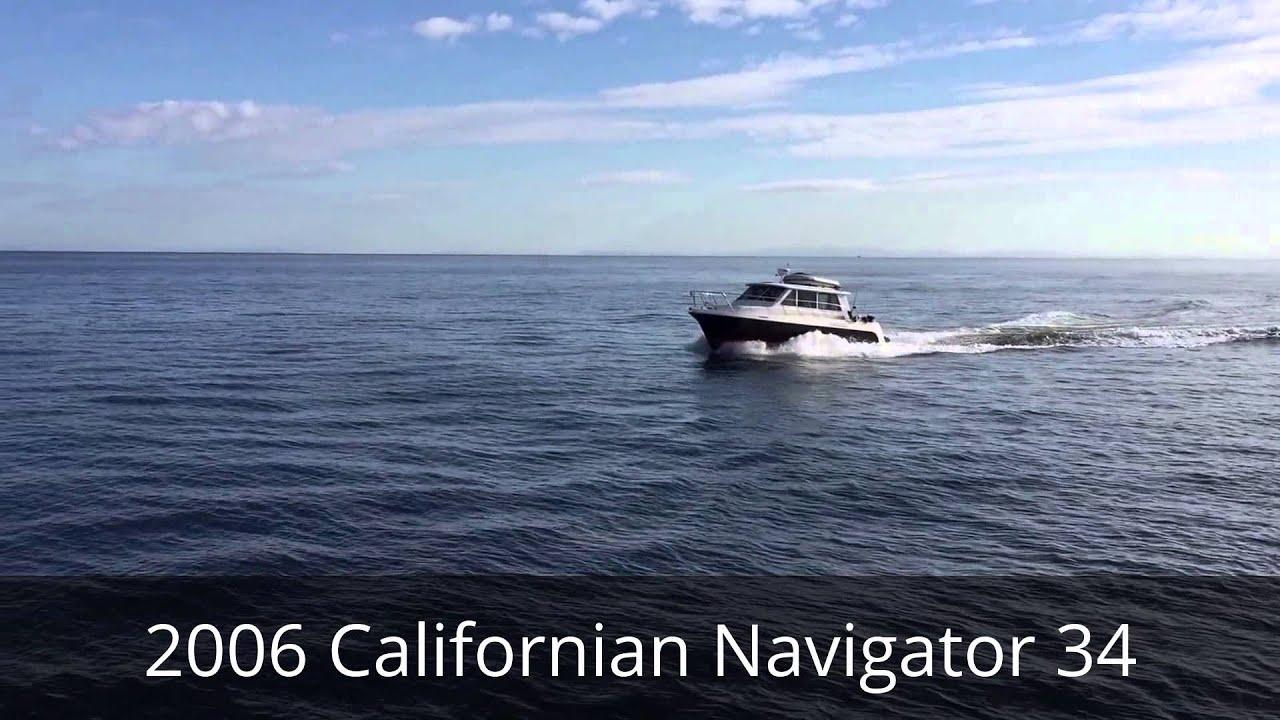 2006 Californian Navigator 34 - Diesel Boat For Sale
