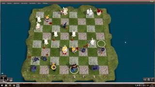 Chessmaster Grand Master Edition Gameplay #2 (Анимированные шахматы)