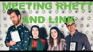 ON STAGE WITH RHETT AND LINK: Our Tour of Mythicality experience