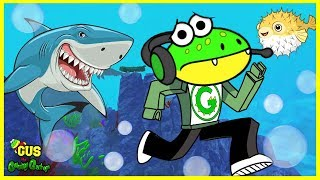 Roblox Fish Simulator WATCH OUT FOR MR. SHARK Let's Play with Gus