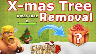 CoC Christmas Update: CHRISTMAS TREE REMOVAL! (2017 Clash of Clans Christmas Update) Insane Rewards