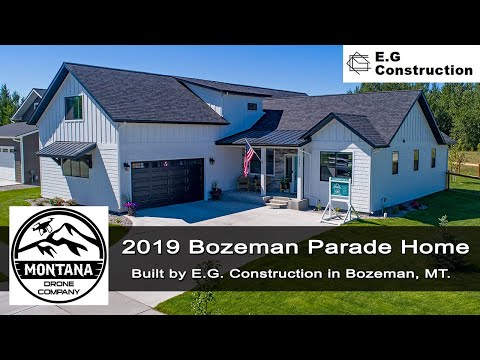 E.G. Construction | 2019 Parade Home | Bozeman Montana