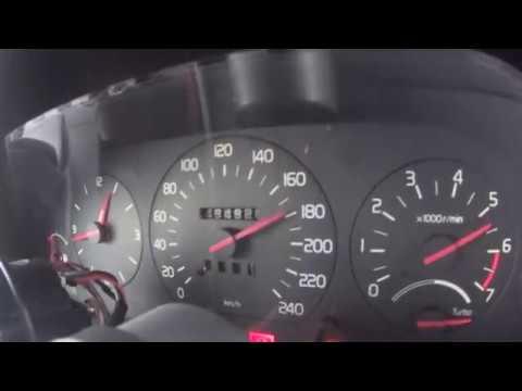 Volvo 940 Turbo acc  0-140 - VX3 cam 0 9 bar boost by peterlundorf
