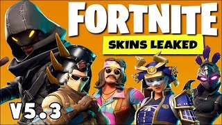 *NEW* LEGENDARY SKINS IN FORTNITE with in Game View