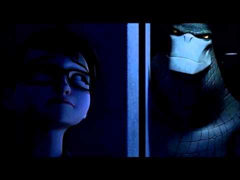 Killer Croc hunts Oracle -Beware the Batman
