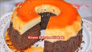 krem karamelli kek yapımı cok kolay ama cok lezzetli bir tarif mutlaka denemelisiniz
