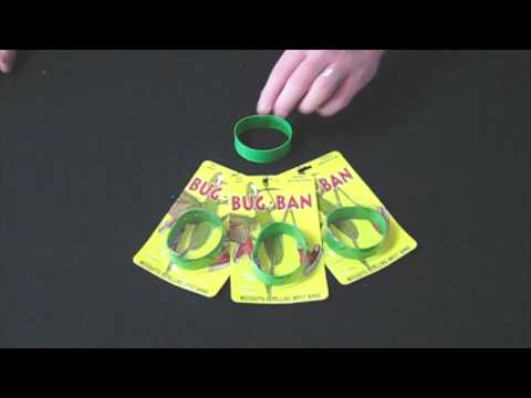Bug Band Insect Repellent demo