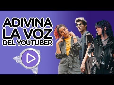 ADIVINA LA VOZ DEL YOUTUBER | EL RETO MAS DIVERTIDO
