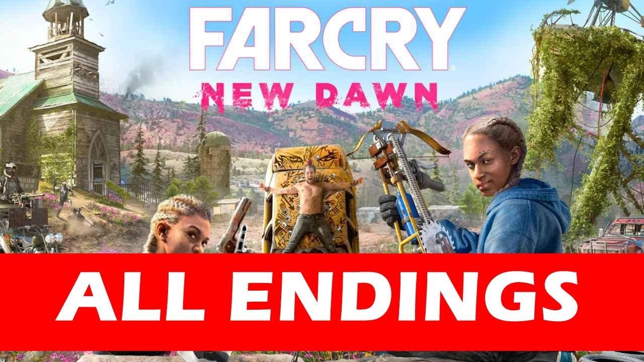 Far Cry New Dawn All Endings (Good Ending / Bad Ending)