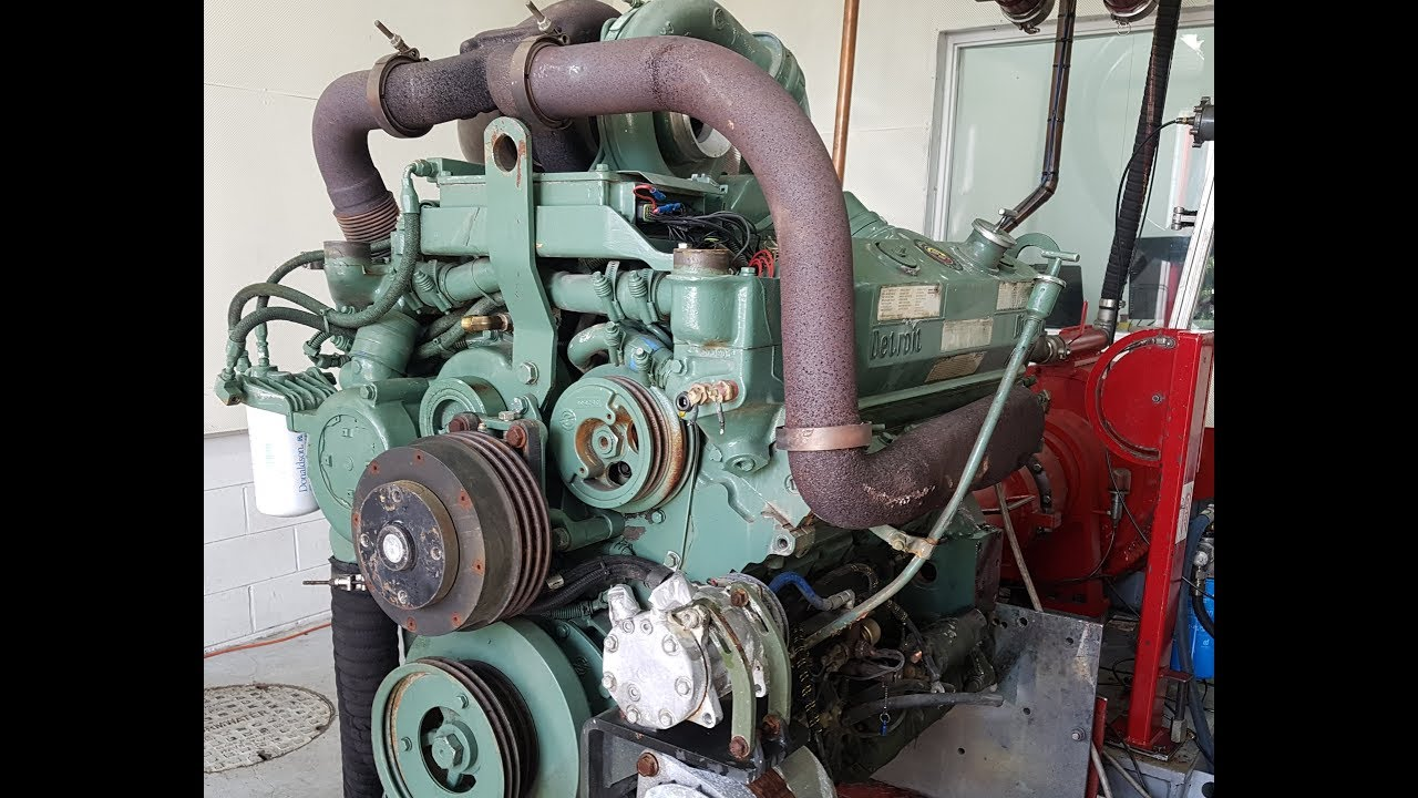 Ex U S Military 450HP @ 2100RPM DDEC-3 8V92 Oshkosh MK48 Engine