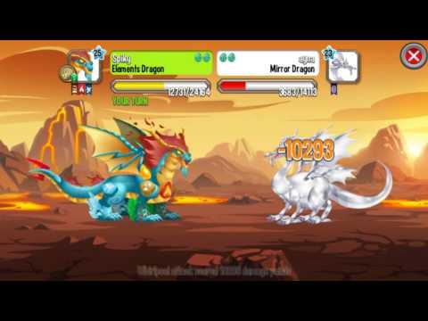 Dragon City - High Dragon Fighting + Boost Combat || fight & skill || in dragon city game.