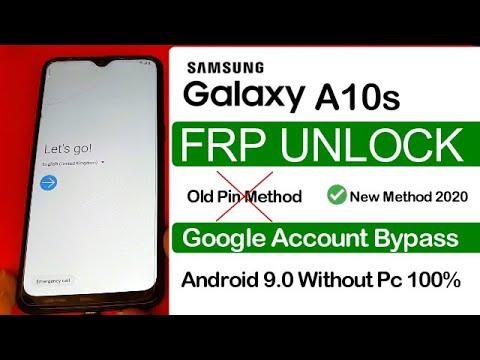 Samsung A10s FRP Bypass