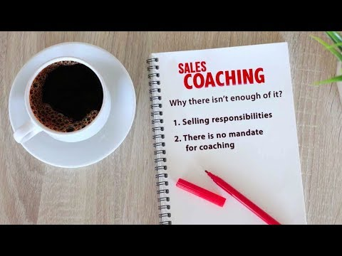 Why are 90% of sales managers not good at coaching salespeople?