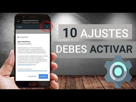 10 AJUSTES OCULTOS Que DEBES ACTIVAR YA En Tu Android