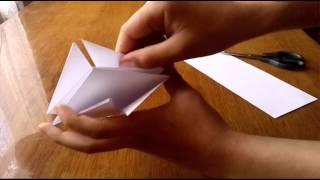 як зробити орігамі м'ячик з паперу