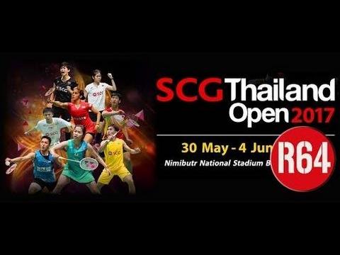 2017 SCG Thailand Open R64 [MS] Kittipong Imnark vs Satheishtharan R.