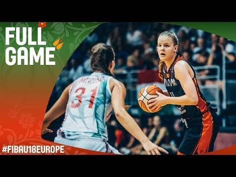 Hungary v Belgium - Full Game - Quarter-Final - FIBA U18 Women's European Championship 2017