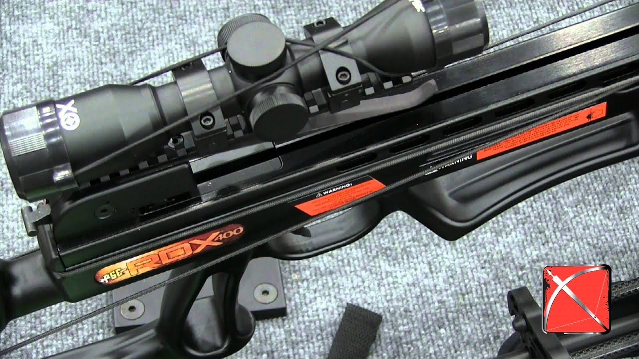 PSE RDX 400 Crossbow - ATA SHOW CROSSBOW REVIEW