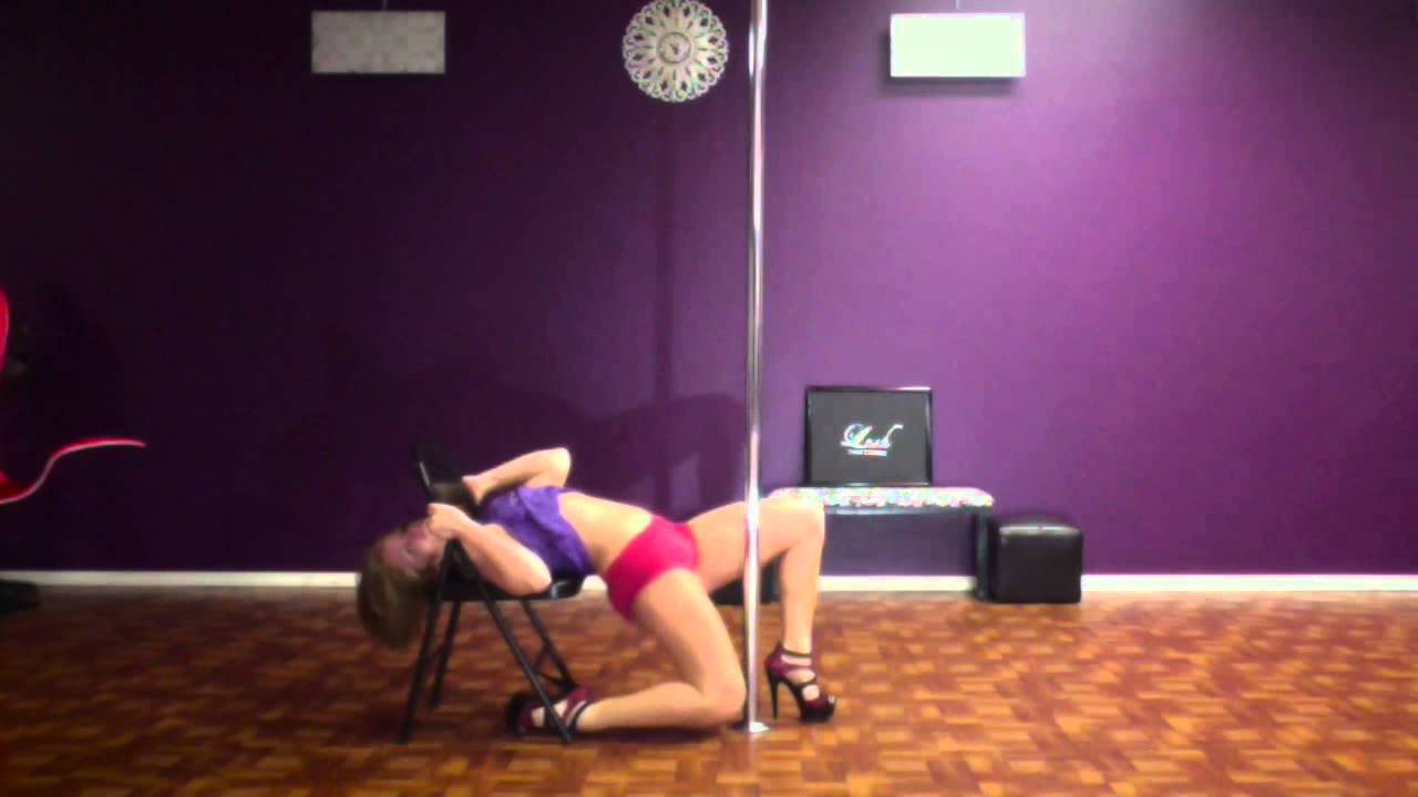 on chair dance raynor eurotech ergohuman mesh mid back task black trick how to forward roll over by lush lisa youtube
